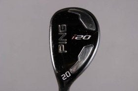 used second hand left handed golf clubs utility hybrids