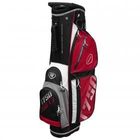 New Masters T750 Trolley Bag Blk/Red/White