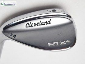 Cleveland RTX 4 56 Mid Grind Tour Satin Wedge