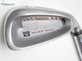 Wilson Deep Red  Iron Set (3-SW)