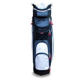 New Masters T900 Trolley Golf Bag Navy/White