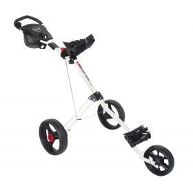 Masters 5 Series 3 Wheel Golf Trolley White/Black
