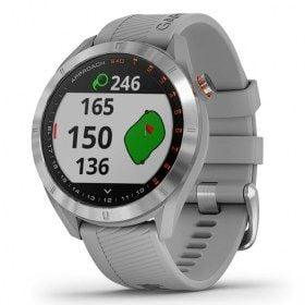 Garmin Approach S40 Stainless Steel with Powder Grey Band GPS