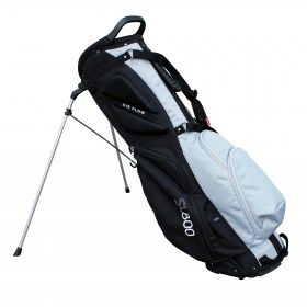 New Masters SL800 SupaLite Stand Bag Black/Grey