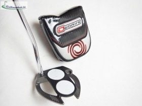Odyssey O Works Black 2Ball Fang Putter