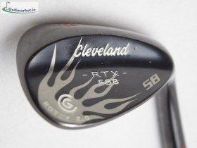 Cleveland 588 RTX 2.0 Blacksatin 58 Wedge