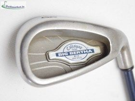 Callaway Big Bertha X-12 Graphite 8 Iron