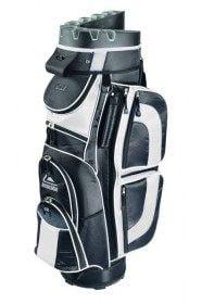Longridge Pro Cart Bag - Black/White - new