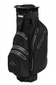 Longridge Aqua 2 Waterproof Cart Bag Blk/Grey - new