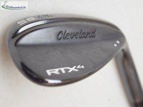 Cleveland RTX-4 Blacksatin 58 Mid Wedge