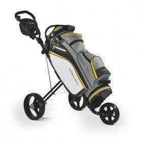 Superlight 9 Trolley Bag Grey/Yellow- new