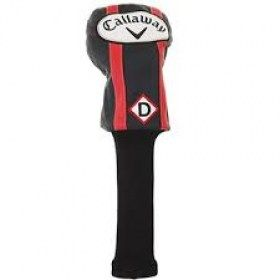 CALLAWAY 2018 HEADCOVER AM VINTAGE DRIVER BLK/RED